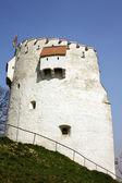 Biała wieża — Zdjęcie stockowe