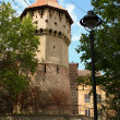 Medieval tower — Stock Photo