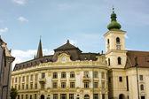 宫殿从布加勒斯特 — 图库照片