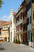 Street scene from Sibiu — Stock Photo