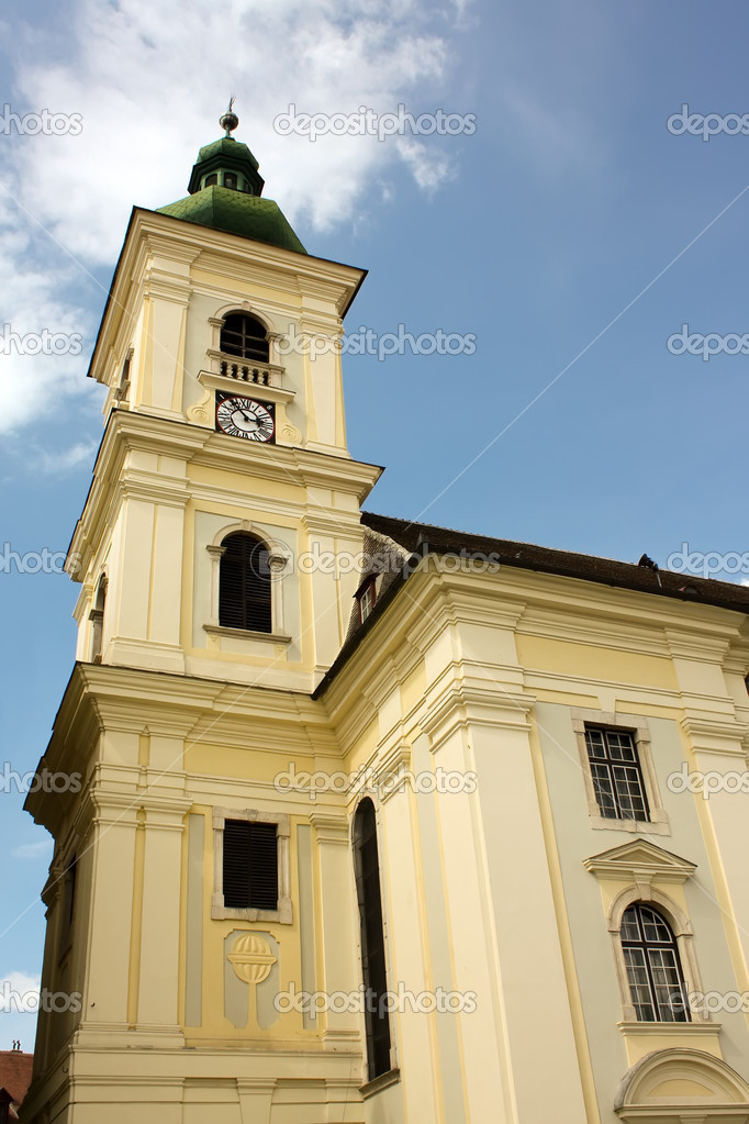 Beautiful tower bell from Sibiu. European Capital of Culture in 2007 — Stock Photo #4295188