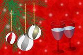 Noel kutlamaları — Stok Vektör