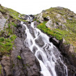 Cascade in Carpathian mountains from Romania — Stock Photo #4897296