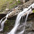 Cascade in Carpathian mountains from Romania — Stock Photo