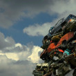 Car dump - Zdjcie stockowe