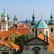 Stock Photo: Prague rooftops