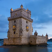Tower of belem (Torre de Belem ) Lisbon portugal — Stock Photo