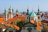 Prague rooftops — Stock Photo