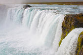 Godafoss waterfal inl Iceland — Stock Photo