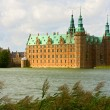 Frederiksborg castle in Denmark — Stock Photo