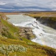 Stock Photo: Gullfoss waterfall