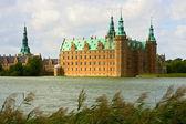 Frederiksborg castle in Denmark — Stock Photo