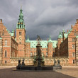 Royalty-Free Stock Photo: Front view of Frederiksborg castl