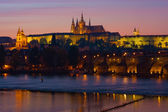 Night Prague — Stockfoto