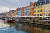 Nyhavn harbour — Stock Photo