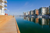 Harbor of Malmo — Stock Photo