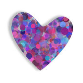 Color heart — Stock Photo
