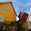 Norwegian houses — Stock Photo