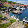 Marina on Bornholm island — Stock Photo