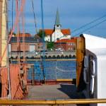 Chiesa sull'isola di bornholm — Foto Stock