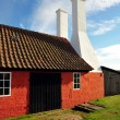 Smokehouse on Bornholm island — Foto de Stock