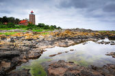 Lighthouse on Bornholm island — Stock Photo