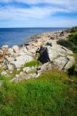 Panorama isola di Bornholm — Foto Stock