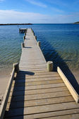 Pier on Bornholm island — Stock Photo