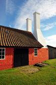 Wędzarnia na wyspie bornholm — Zdjęcie stockowe