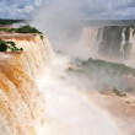 Iguazu waterfalls in Argentina — Stock Photo #4163201