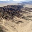 Stock Photo: Nazca desert and mountains in Peru