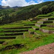 Chinchero ruins in Peru - Zdjcie stockowe