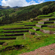 chinchero ruins in peru — Stock Photo