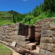 Part of ancient wall in Peru — Stock Photo #4169928
