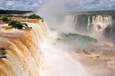 Iguazu waterfalls in Argentina — Stock Photo
