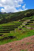 Chinchero ruins in Peru — Stock Photo