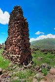 Ancient wall in Urubamba Valley — Stock Photo