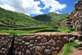 Ancient city in Peru — Stock Photo