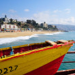 Stock Photo: Boat on Velparaiso beach