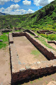 Ancient city ruins in Peru — Stock Photo