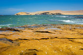 Peruvian coastline — Stock Photo