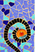 Park Guell Antoni Gaudi Barcelona Spain — Stock Photo