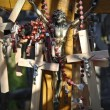Detail of crosses in Lithuania - Stock Photo