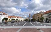 Vilnius old town square, Lithuania — Stock Photo