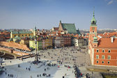 Old Town city panorama, Warsaw, Poland — Stock Photo