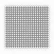 White occlusion bulb pattern on white — Stock Photo