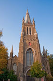 Bruges church — Stockfoto