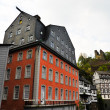 Monschau red house — Stock Photo