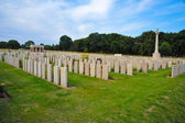 Maricourt cemetery — Stock Photo