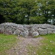 Chambered cairn - Foto Stock